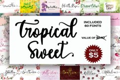 Tropical Sweet Font Bundles Product Image 1