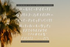Summer Chill - A Stylish Script Font Product Image 6
