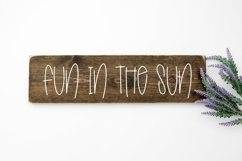 Web Font Summer Dreams - A Quirky Handlettered Font Product Image 2