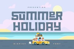 Web Font Summer Holiday Product Image 1