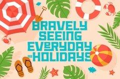 Web Font Summer Holiday Product Image 4