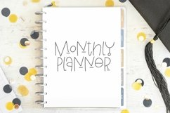 Web Font Summer Mornings - A Quirky Handlettered Font Product Image 2