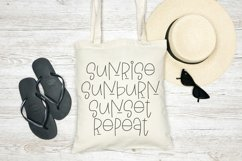 Web Font Summer Mornings - A Quirky Handlettered Font Product Image 4