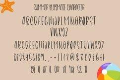 Web Font Summer Playmate - Summer Handwritten Font Product Image 4