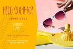 Web Font Summer Playmate - Summer Handwritten Font Product Image 5