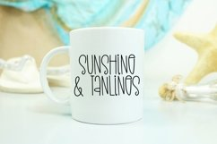 Web Font Summer Showers - A Quirky Handlettered Font Product Image 2