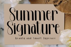 Summer Signature - Beauty Handwritten Font Product Image 1