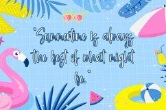 Web Font Summer Spirit - Beauty Handwritten Font Product Image 4