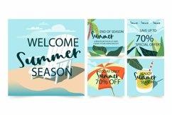 Web Font Summer Umbrella - Summer Font Product Image 3