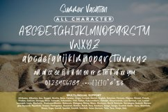 Summer Vacation - Cool Handwritten Product Image 5