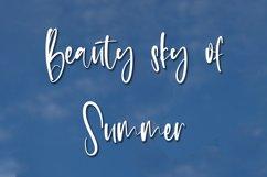 Summer Weather - Beauty Handwritten Font Product Image 2