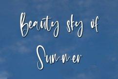 Web Font Summer Weather - Beauty Handwritten Font Product Image 2