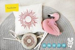 Sun monogram svg bundle, Svg Png Pdf Eps Dxf, celestial svg Product Image 3
