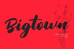 Sunday Serve Bold Script Font Product Image 2
