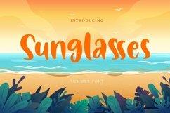 Web Font Sunglasses - Summer Font Product Image 1