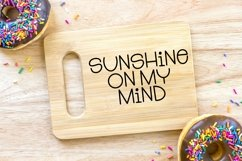 Web Font Sunset Moments - A Quirky Handlettered Font Product Image 3
