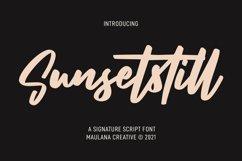 Sunsetstill Signature Script Font Product Image 1