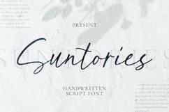 Web Font Suntories Font Product Image 1