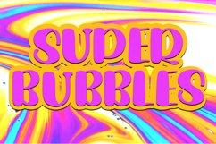Super Bubbles Cute Display Font Product Image 1