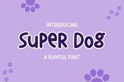Super dog a Playful font Product Image 1