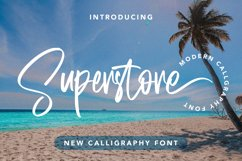 Superstore - New Calligraphy Font Product Image 1