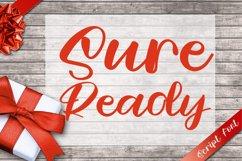 Sure Ready - Beauty Script Font Product Image 1