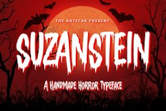 Suzanstein - Horror Font Product Image 1
