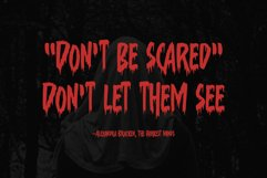 Suzanstein - Horror Font Product Image 2