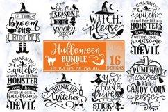 Halloween Bundle of 16 designs SVG Halloween Decorations Product Image 3