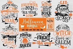 Halloween Bundle of 16 designs SVG Halloween Decorations Product Image 2