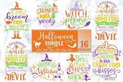 Halloween Bundle of 16 designs SVG Halloween Decorations Product Image 5