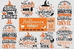 Halloween Bundle of 16 designs SVG Halloween Decorations Product Image 1