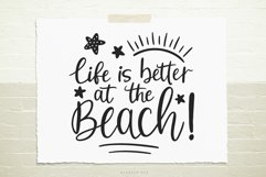 Life is better at the beach SVG, Cutting file, Decal Product Image 1