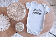 Hello summer SVG, Cutting file, Decal Product Image 2