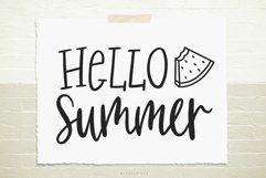 Hello summer SVG, Cutting file, Decal Product Image 1