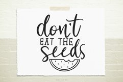 Don't eat the seeds SVG, Cutting file, Decal Product Image 1