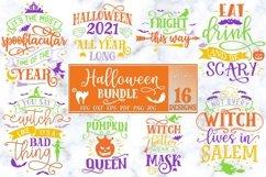 Halloween Bundle of 16 designs SVG Halloween Decorations Product Image 6
