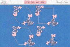 Butterfly Summer Clipart SVG, Nature Butterflies Bundle SVG Product Image 1