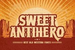 Sweet Antihero - Vintage Western font Product Image 1