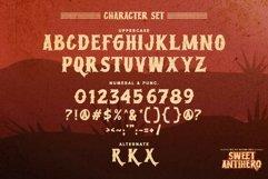 Sweet Antihero - Vintage Western font Product Image 2