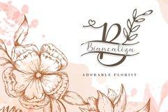 Sweet Flower Monogram Product Image 4