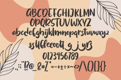 Sweet Puff - Handlettered Font Product Image 5
