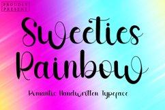 Sweeties Rainbow - Romantic Handwritten Font Product Image 1