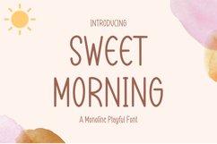 Sweet Morning Product Image 1