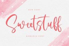 Web Font Sweetstuff - Romance Font Product Image 1