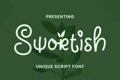 Web Font Swortish Product Image 1