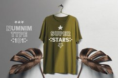 Vintage Star - Classic Display font with doodle glyphs Product Image 6