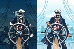 Captain At Helm Retro Set Product Image 2