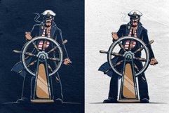 Captain At Helm Retro Set Product Image 4