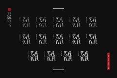 Takasimura Typeface Product Image 2